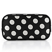 Trendy Ladies' Nylon Cosmetic Bag With Dot