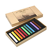 12 kleuren haarkleur pastelkrijt