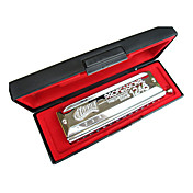 Huang - (112) professionelle chromatische Mundharmonika C key/12 holes/48 Tne / kreisfrmigen Mundstck