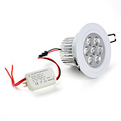 7W 630LM 5500-6500K Natural White Light LED Ceiling Bulb (85-265)