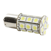 1156 6w 27x5050 SMD hvitt lys pre for bil bremselys (dc 12v)