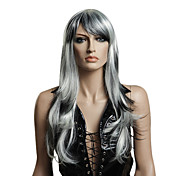 Capless High Quality Synthetic Medium Length Straight Party Wig
