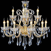Crystal Ceiling Light with 12 Lights
