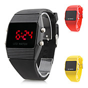 Popular Unisex Silicone Digital LED Wrist Watch (Assorted Colors)
