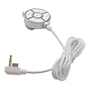 blazepro auriculares con control remoto para Sony PSP y PSP Go (plata)