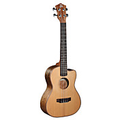 Ella - (UK-4304SC) High-Grade Solid Red Cedar Tenor Ukulele (Cutway)
