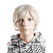 Capless Synthetic Short Wavy Children's Wigs