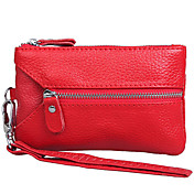 Ladies' Leather Wristlet