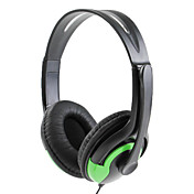 Premium Edition Microphone Headphone Set for Xbox 360 (Green)