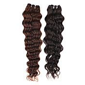 20 Inch Curly Brazilian Remy Hair Weave Hair Extension