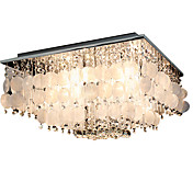 Luxuriant Crystal Pendant Lights with 4 Lights