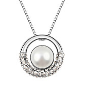 Austrian Crystal With Real Platinum Plated Anti-Allergy Ladies Necklace Star Dream (More Colors)