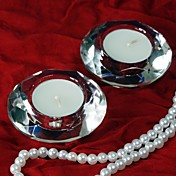 Diamond Tealight Holders (Set of 4)