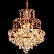 Modern Crystal Ceiling Light with 8 Lights
