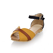 Leatherette Peep Toe Sandals / Flats Party / Evening Shoes (More Colors)