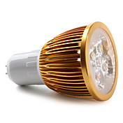 GU5.3 4-LED 360LM 6000K Natural White Light Spot Bulb (85-265V)