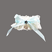 Lace/Satin With Rhinestone Wedding Garter