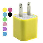 110-240v Chargeur USB AC pour iphone 5 & iPhone 4/4S (couleurs assorties)