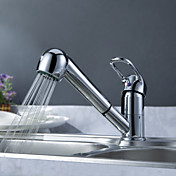 Sprinkle by Lightinthebox - Solid Brass Pull Out Kitchen Faucet (Chrome Finish)