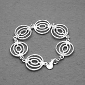 Fashion Silver Plated Lanterns Unisex Bracelet