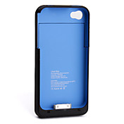 1900mAh Power Charger External Battery Backup Case for iPhone 4, 4S (Black)
