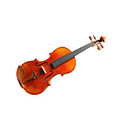 Violintine - (V20) 1/2 Professional-Grade Solid Spruce &amp; 1-Piece Flame Maple Violin with Case/Bow