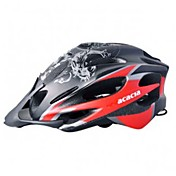 GUB-Fairshaped Designed Sports Helmet with Sunvisor and LED Safety Lamp