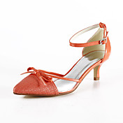 Leatherette Kitten Heel Pointy Toe/ Sandals Wedding Shoes(More Colors)