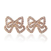 Fabulous 18K Gold Plated Crystal Animal Earrings(More Colors)