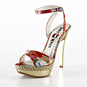 Fabric Stiletto Heel Platform Party/ Evening Shoes(More Colors)