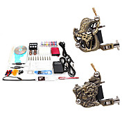 2 Udskårne Tattoo Gun Kit for Foring og Skygge