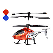 Palm Size 2.5-Channel Scale RC Helicopter (Orange/Blue, No.8004)