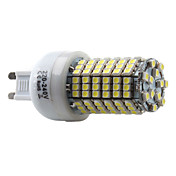 G9 138-3528 SMD 7W 350-450LM 6000-6500K Natural White Light LED Corn Bulb (220-240V)