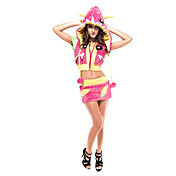 Sexy Women's Red Deluxe Monster Halloween Costume(3 Pieces)