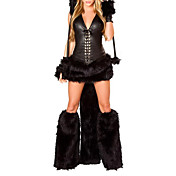 Sexy Woman Black Fancy Dress Cheshire Cat Corset Halloween Costumes