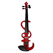 Chow's - (EV10) 4/4 Basswood Electric Violin Outfit (Multi-Color)