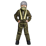 kid air force pilot drengens kostume (5-7 r)