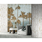 Palm Trees Natur og Animal Mural