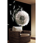 Dandelion Floral Nature Mural