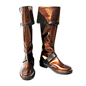 Cosplay Boots Inspired by D.Gray-man Lavi  Brown