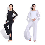 Yoga Casual Sportswear Suits 3 Sätze (Langarm Yoga T-Shirt + Yoga Pants)