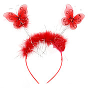 Cute Red Butterfly Halloween Headpiece (1 piece)