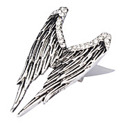 Angel's Wing Silver Plate Ring