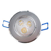 3W LED Plafonnier avec 3 LED en fonction Round