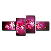 Hand Painted Oil Painting Floral Set of 4 1211-FL0039