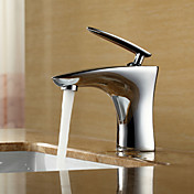 Sprinkle® by Lightinthebox - Contemporary Centerset Bathroom Sink Faucet (Chrome Finish)