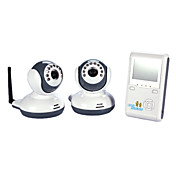 Wireless Digital Baby Monitor Kit with Two Camera