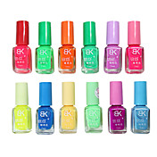 BK Candy Color Noctilucent Nail Art Polish (7ml,12PCS)