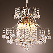 Lmpara Chandelier Moderna de Cristal con 5 Bombillas - ASHE
