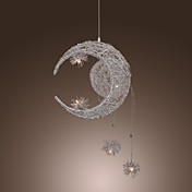 Moon Star Featured Pendant Light with 5 Lights